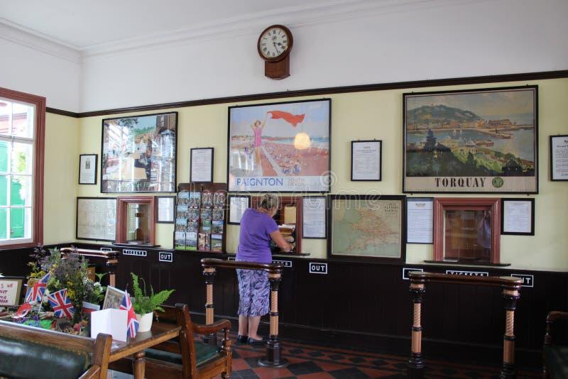 Σταθμός Kidderminster, σιδηρόδρομος κοιλάδων Severn στοκ φωτογραφίες