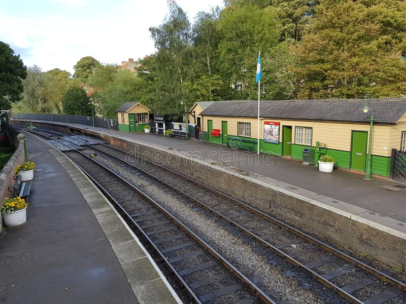 Σταθμός Pickering Train North Yorkshire England UK στοκ φωτογραφίες με δικαίωμα ελεύθερης χρήσης