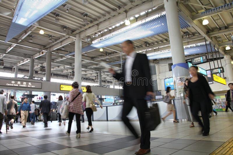 Σταθμός Shinagawa, Τόκιο στοκ εικόνα