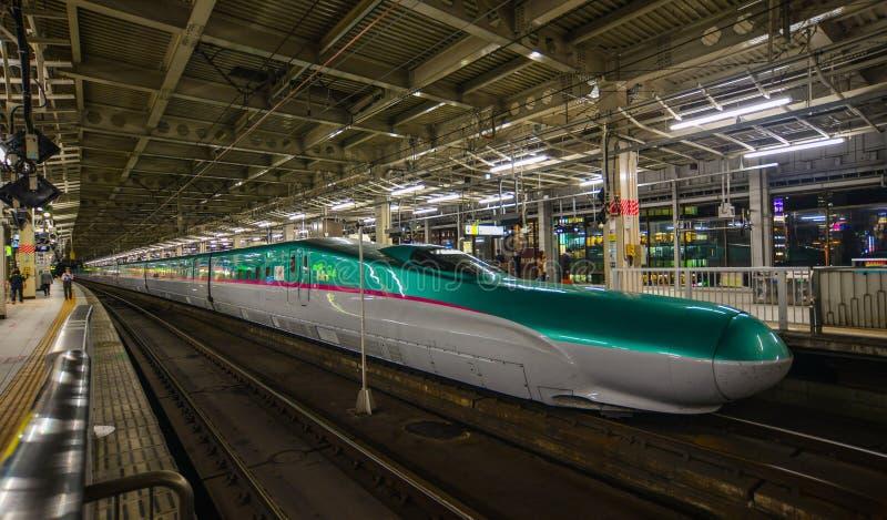 Σταθμός Shinkansen στο Σεντάι, Ιαπωνία στοκ φωτογραφία