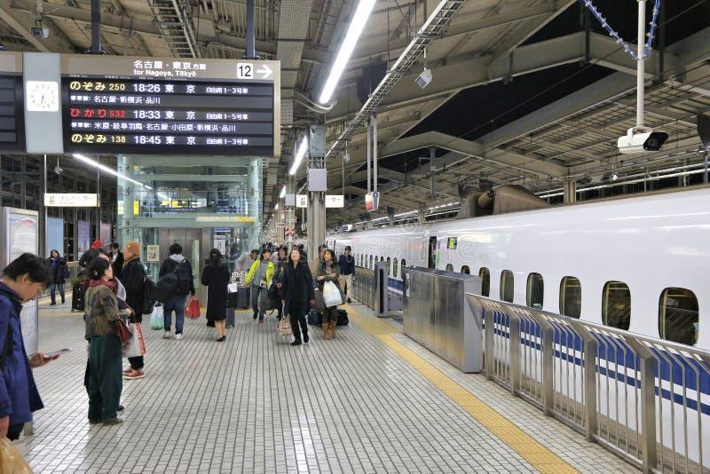 Σταθμός Shinkansen του Κιότο στοκ εικόνα