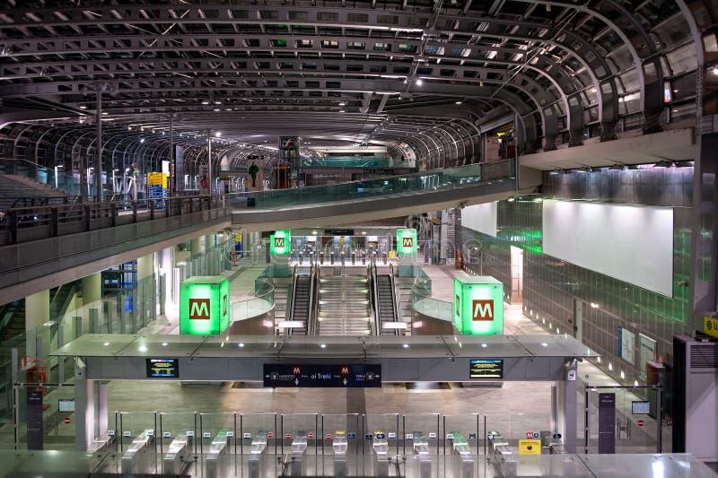 Σταθμός Susa Porta στο Τορίνο στοκ φωτογραφία με δικαίωμα ελεύθερης χρήσης