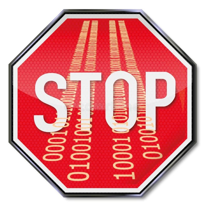 Σταματήστε την κακή χρήση των στοιχείων διανυσματική απεικόνιση