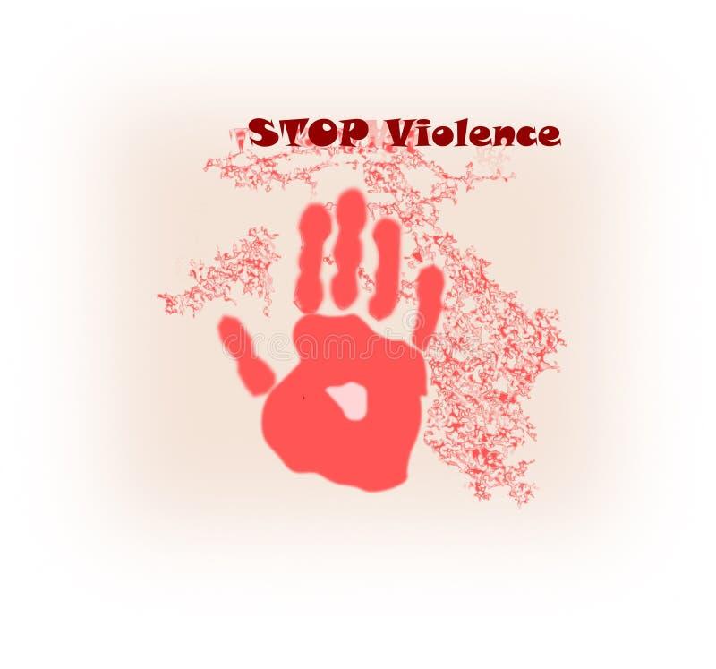 σταματήστε τη βία στοκ εικόνες με δικαίωμα ελεύθερης χρήσης