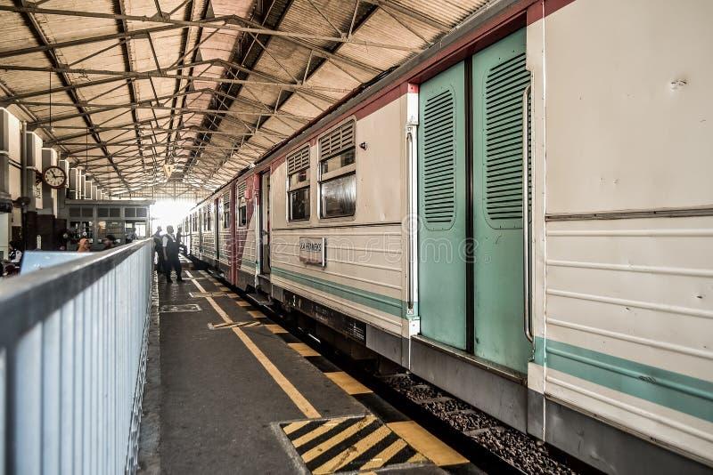 σταματημένο τραίνο στοκ εικόνες