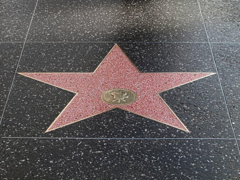 σταρ του Χόλιγουντ στοκ εικόνα με δικαίωμα ελεύθερης χρήσης
