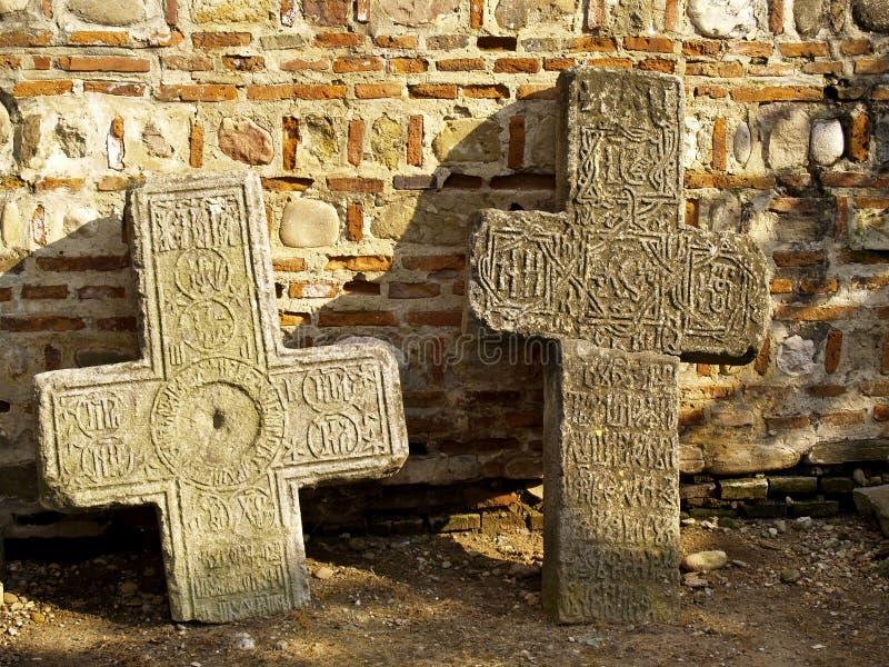 σταυροί δύο στοκ φωτογραφίες με δικαίωμα ελεύθερης χρήσης