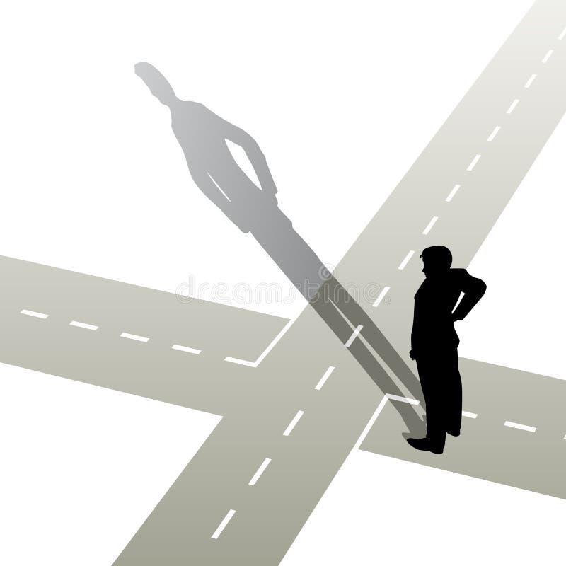 σταυροδρόμια απεικόνιση αποθεμάτων