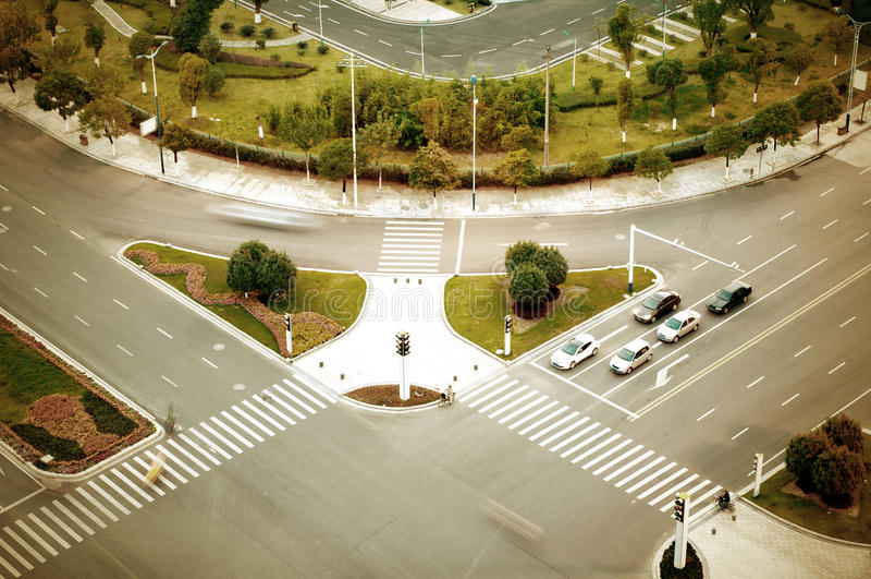σταυροδρόμια στοκ φωτογραφία με δικαίωμα ελεύθερης χρήσης