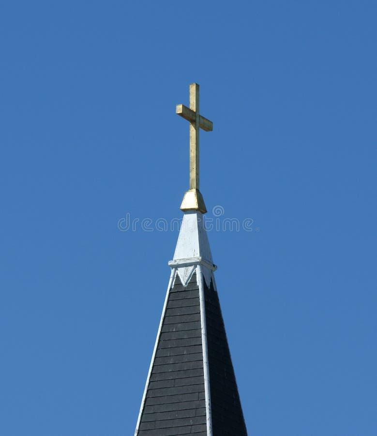 σταυρός εκκλησιών στοκ φωτογραφίες