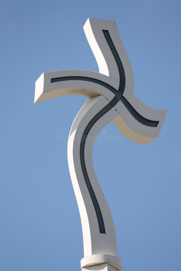 σταυρός εκκλησιών στοκ εικόνες με δικαίωμα ελεύθερης χρήσης