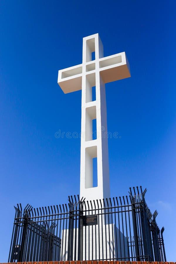 Σταυρός επάνω στο υποστήριγμα Soledad στη Λα Χόγια, Καλιφόρνια στοκ φωτογραφία με δικαίωμα ελεύθερης χρήσης