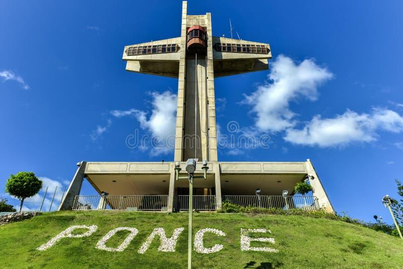 Σταυρός παρατηρητών σε Ponce, Πουέρτο Ρίκο στοκ εικόνες με δικαίωμα ελεύθερης χρήσης