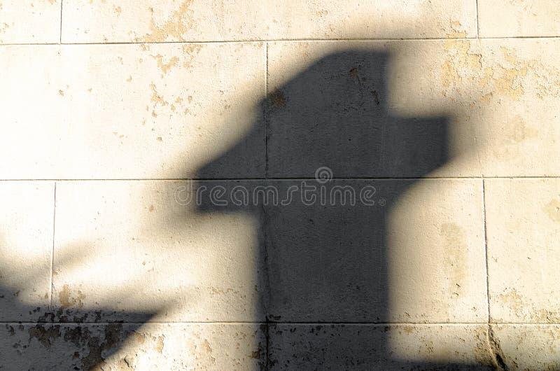 Σταυρός σκιών στοκ εικόνες με δικαίωμα ελεύθερης χρήσης