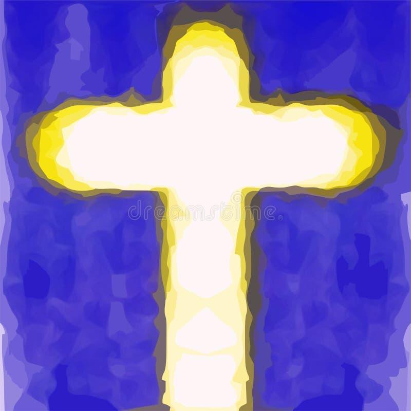Σταυρός του savior του Ιησού Χριστού στοκ φωτογραφίες