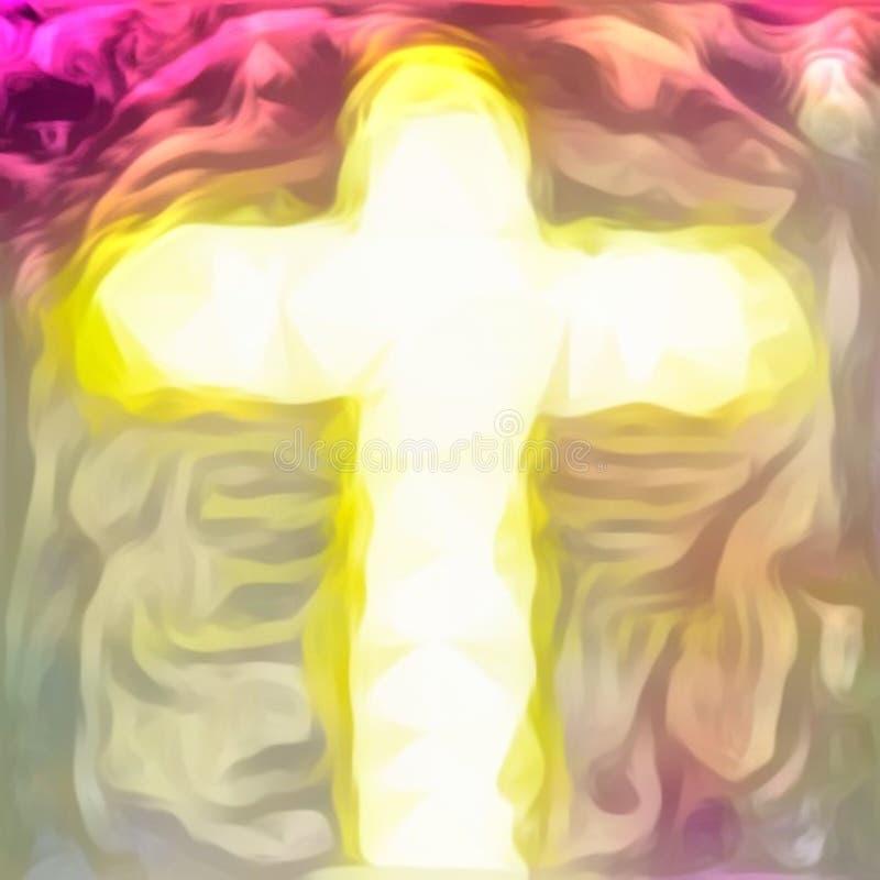 Σταυρός του savior του Ιησού Χριστού στοκ εικόνες