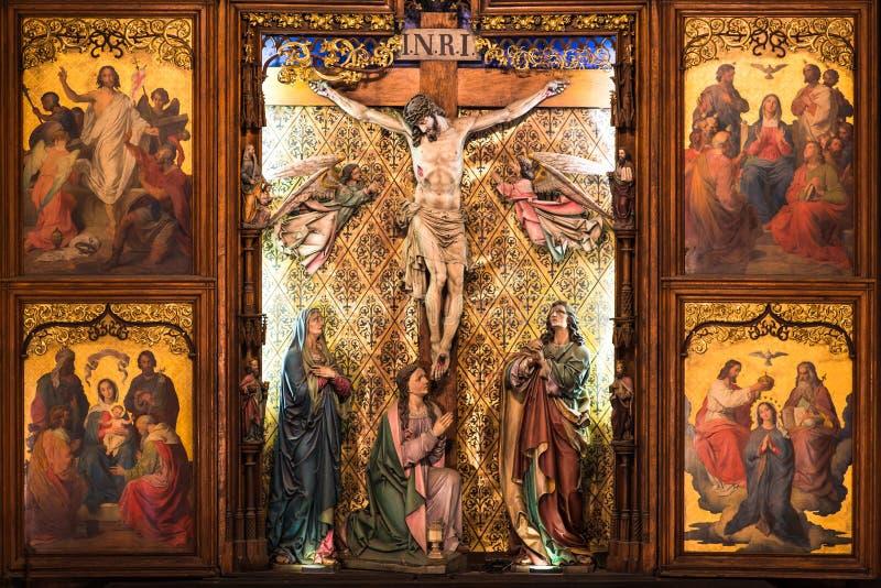 σταυρός Χριστού στοκ εικόνα με δικαίωμα ελεύθερης χρήσης