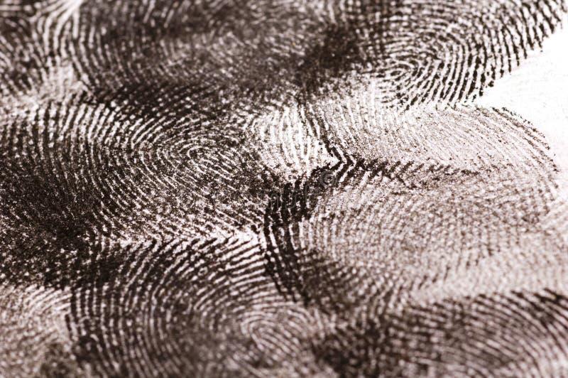στενά δακτυλικά αποτυπώμ&a στοκ εικόνα με δικαίωμα ελεύθερης χρήσης