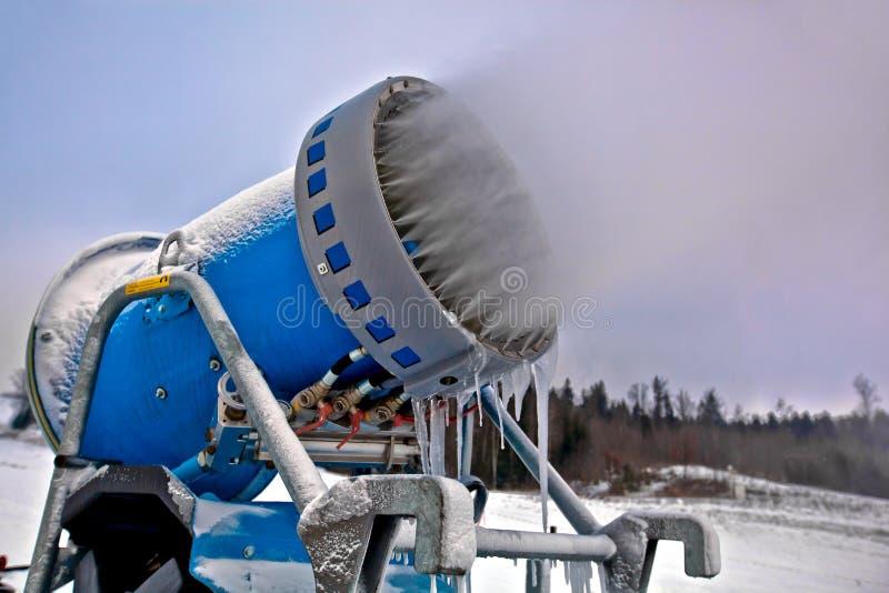 Download στενά Snowflakes χιονιού παραγωγής πυροβόλων επάνω Στοκ Εικόνες - εικόνα από φύση, κάνετε: 22795778