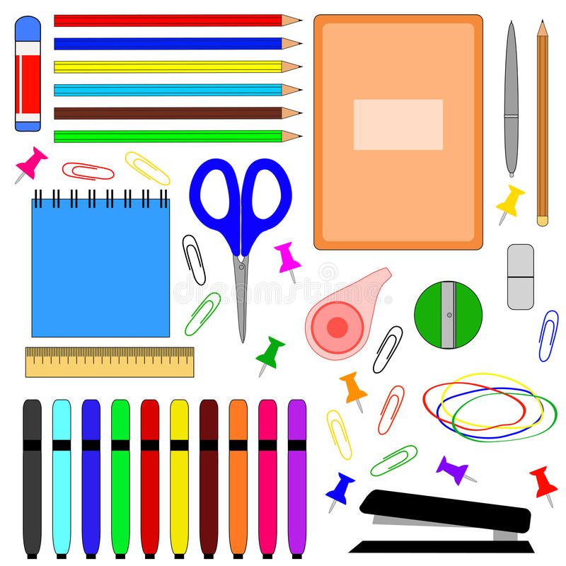 στενές σχολικές προμήθειες μοιρογνωμόνιων πυξίδων επάνω απεικόνιση αποθεμάτων