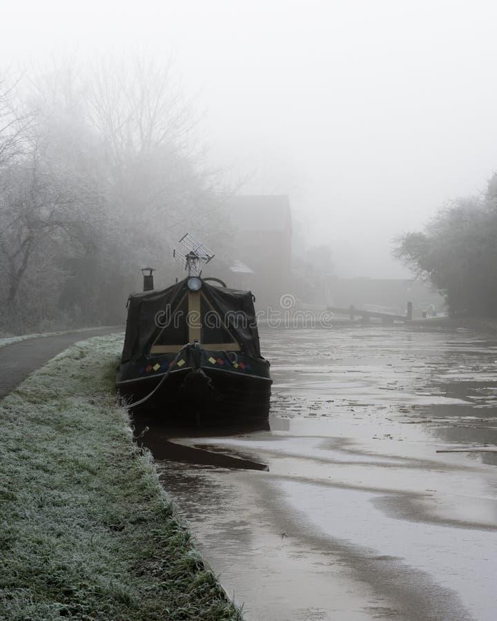 Στενή βάρκα στοκ φωτογραφία με δικαίωμα ελεύθερης χρήσης