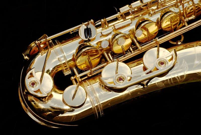 στενή γενική ιδέα saxophone επάνω στοκ φωτογραφία με δικαίωμα ελεύθερης χρήσης
