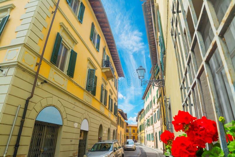 στενή οδός της Φλωρεντία&sigmaf στοκ φωτογραφία με δικαίωμα ελεύθερης χρήσης