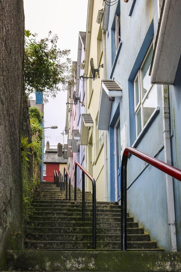 Στενή συνεργασία με βήματα Kinsale, Επαρχία Κορκ ιρλανδία στοκ εικόνα με δικαίωμα ελεύθερης χρήσης