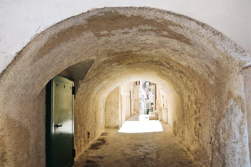 Στενωπός. Vieste. Πούλια. Ιταλία. στοκ φωτογραφίες με δικαίωμα ελεύθερης χρήσης