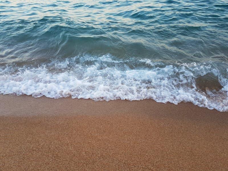 Στενός επάνω θάλασσας και άμμου στοκ φωτογραφία με δικαίωμα ελεύθερης χρήσης