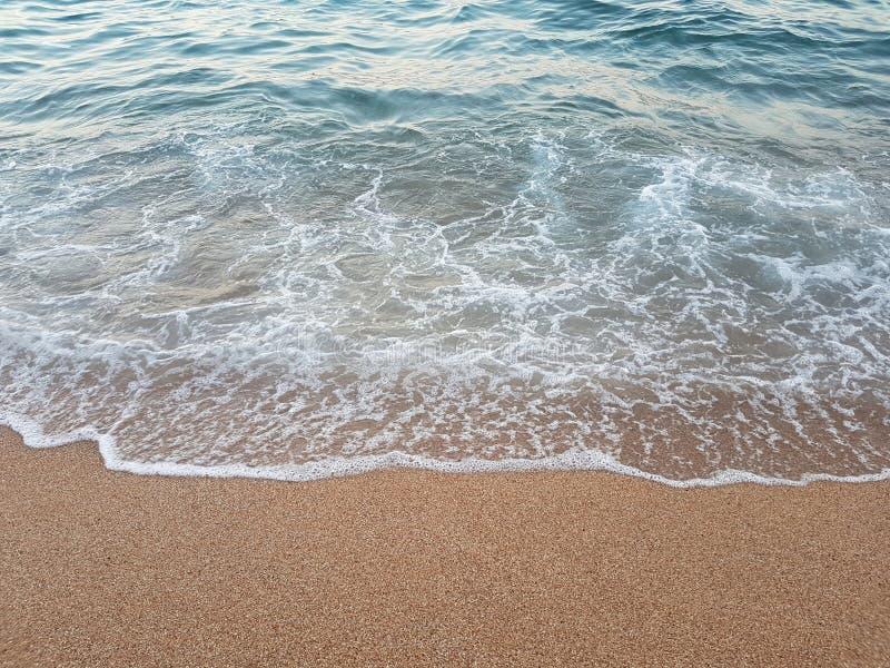 Στενός επάνω θάλασσας και άμμου στοκ εικόνες με δικαίωμα ελεύθερης χρήσης