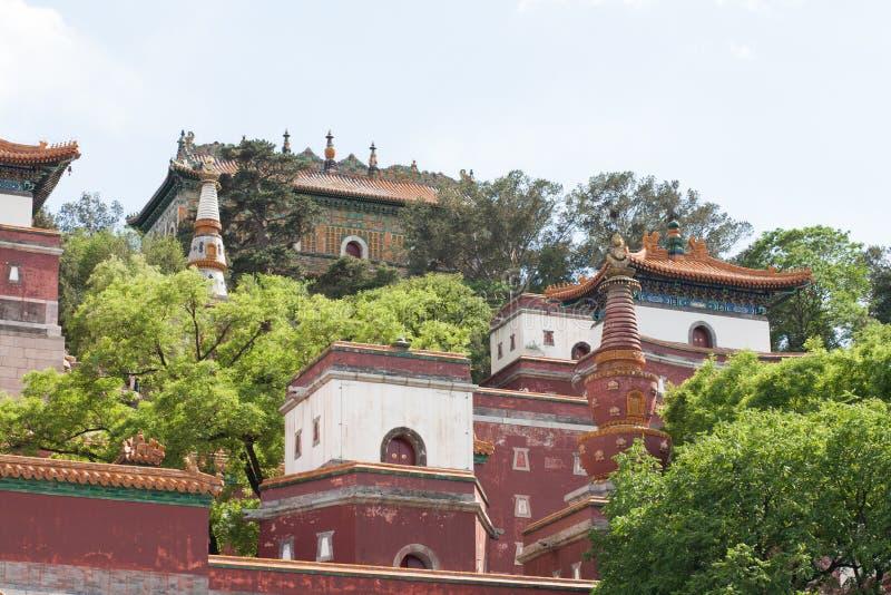 Στενός επάνω ναών παραδοσιακού κινέζικου στοκ εικόνα
