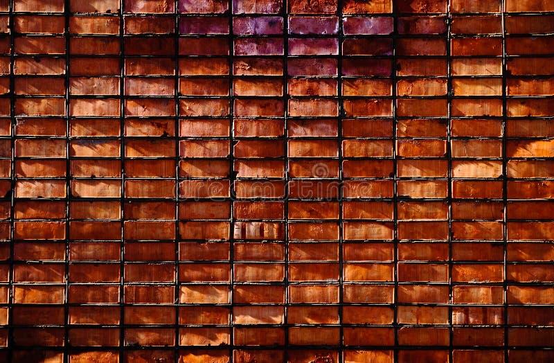 στενός επάνω τοίχος τούβλ&o στοκ φωτογραφίες με δικαίωμα ελεύθερης χρήσης