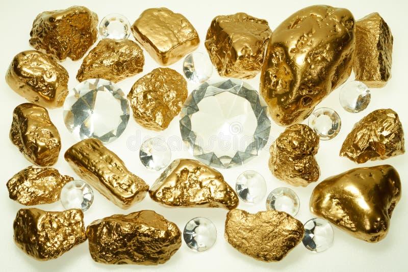 στενός χρυσός διαμαντιών επάνω στοκ φωτογραφία με δικαίωμα ελεύθερης χρήσης