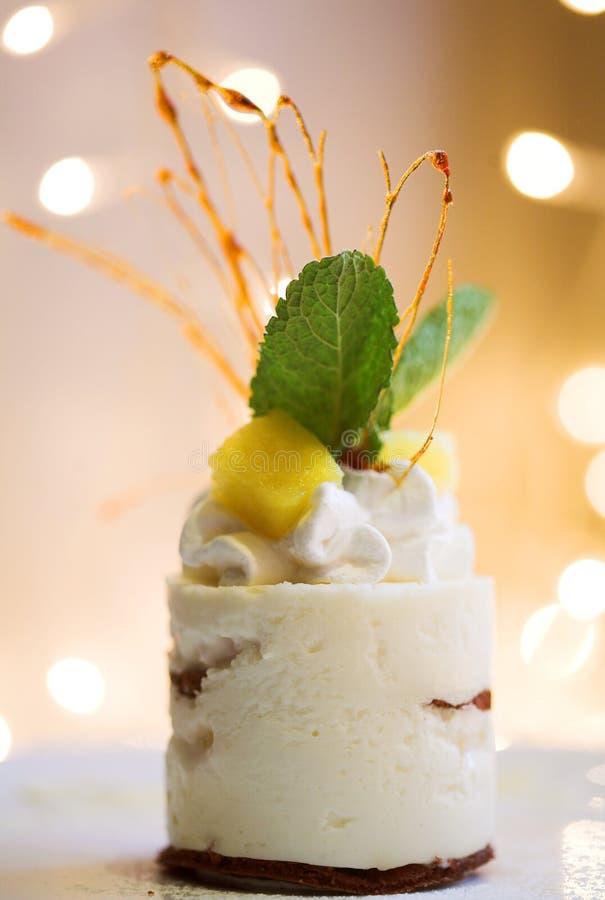 στενό γλυκό κέικ επάνω στοκ φωτογραφίες