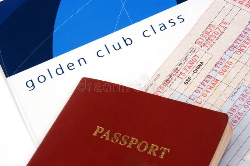 στενό εισιτήριο αερογρ&alpha στοκ φωτογραφίες