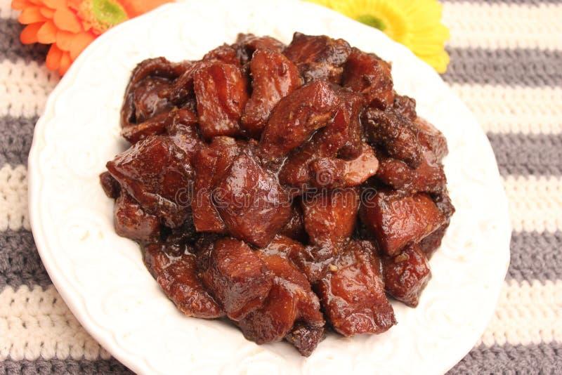 στενό λευκό χοιρινού κρέατος κρέατος ανασκόπησης επάνω στοκ φωτογραφία με δικαίωμα ελεύθερης χρήσης