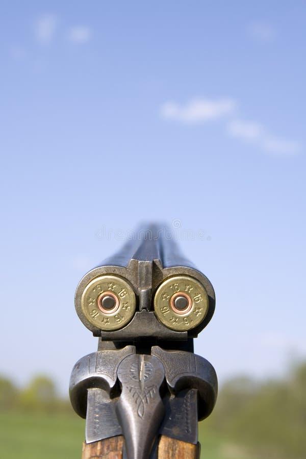 στενό κυνηγετικό όπλο επάν στοκ φωτογραφία με δικαίωμα ελεύθερης χρήσης