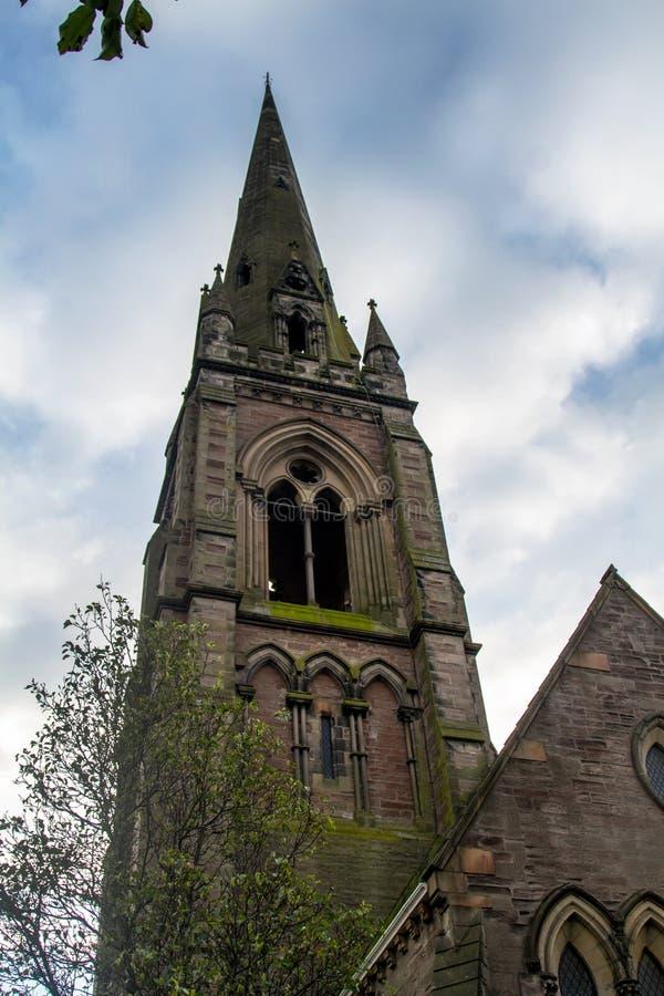 Στενό πλάνο της εκκλησίας στη Σκωτία στοκ εικόνα με δικαίωμα ελεύθερης χρήσης