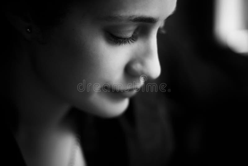 Στενό πορτρέτο γυναικών στοκ φωτογραφία με δικαίωμα ελεύθερης χρήσης