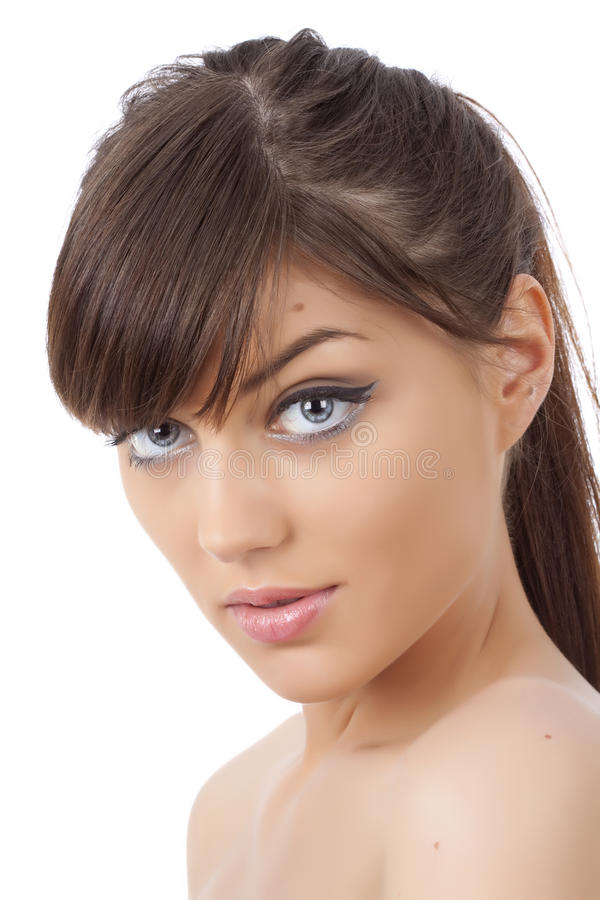 στενό πορτρέτο ομορφιάς ε&p στοκ εικόνα με δικαίωμα ελεύθερης χρήσης