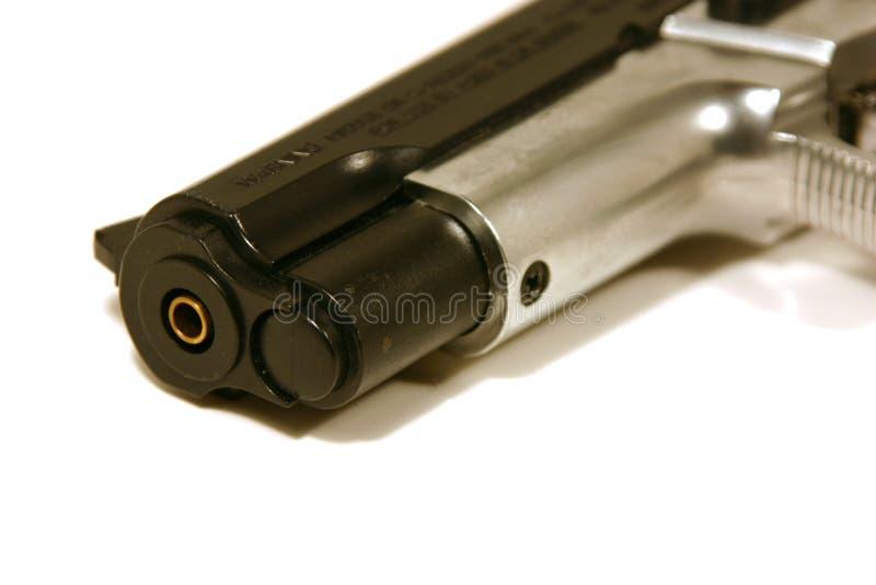 στενό πυροβόλο όπλο επάνω στοκ εικόνες