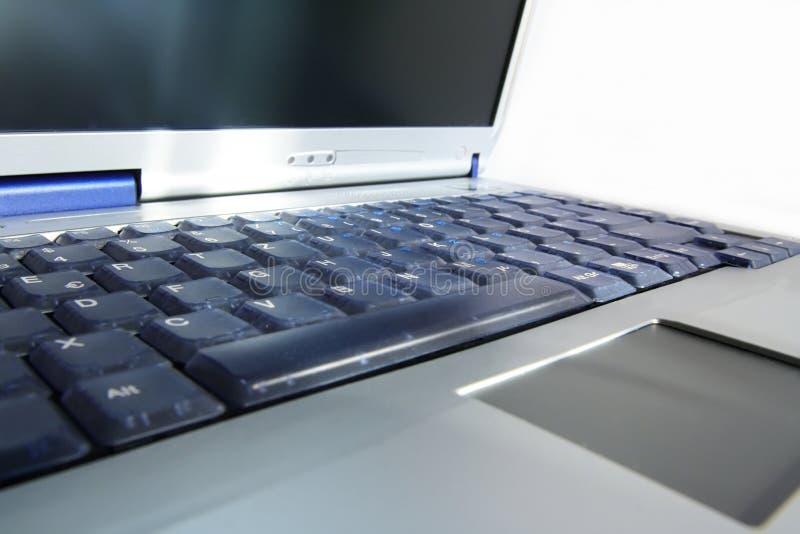 στενό σημειωματάριο lap-top επάνω στοκ εικόνες με δικαίωμα ελεύθερης χρήσης