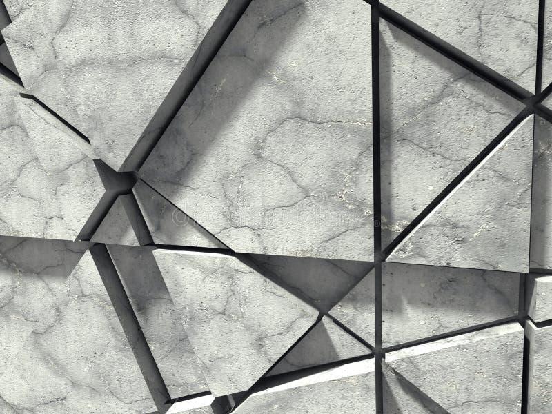στενό συγκεκριμένο πλάνο επάνω στον τοίχο Χαοτικό σχέδιο σχεδίων αρχιτεκτονικής βαθύ σχέδιο πυξίδων ανασκόπησης μπλε διανυσματική απεικόνιση