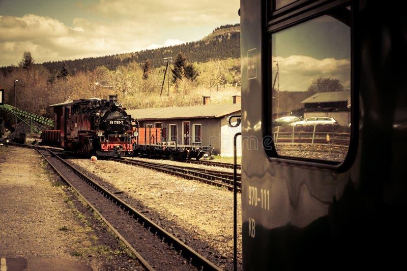 Στενό τραίνο μετρητών στοκ εικόνα με δικαίωμα ελεύθερης χρήσης