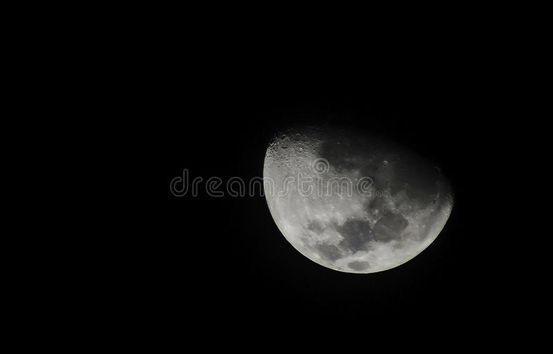στενό φεγγάρι επάνω στοκ εικόνα με δικαίωμα ελεύθερης χρήσης