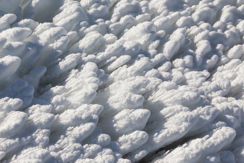 στενό χιόνι επάνω στοκ εικόνες