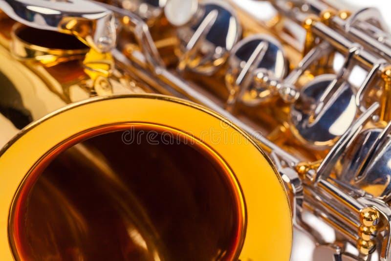 στενό saxophone επάνω στοκ εικόνες με δικαίωμα ελεύθερης χρήσης