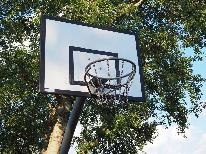 Στεφάνη καλαθοσφαίρισης στην Ευρώπη στοκ φωτογραφία με δικαίωμα ελεύθερης χρήσης