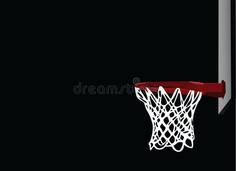 Στεφάνη καλαθοσφαίρισης απεικόνιση αποθεμάτων